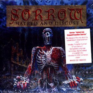 Sorrow Hatred And Disgust Cd Doom Death Heavy Metal Reissue