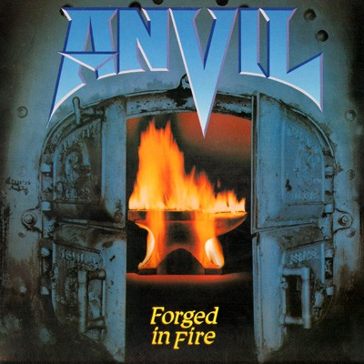 Anvil Forged In Fire Lp 1983 Canadian Heavy Metal