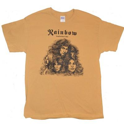 c87f7467 Rainbow - Long Live Rock N Roll T-Shirt classic rock clothing retro 70s