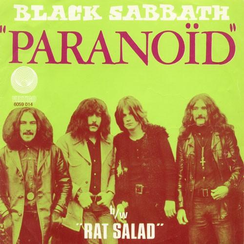Black Sabbath Paranoico
