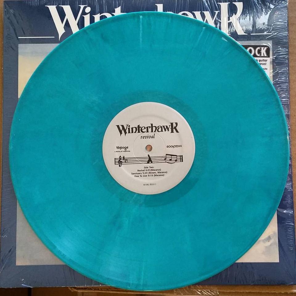 Winterhawk Revival Lp Reissue 1982 Hard Rock Guitar
