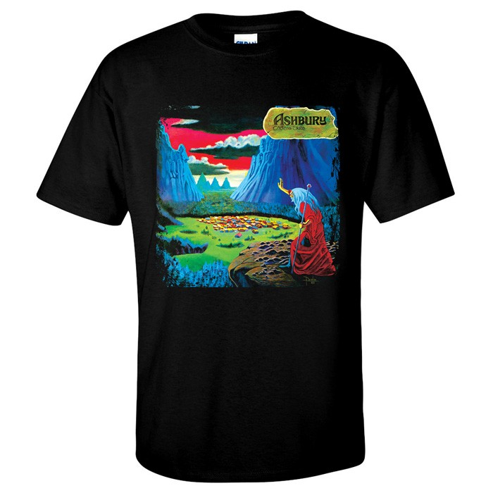 80b1fca7 Ashbury Endless Skies T-Shirt 1983 U.S. hard rock album cover art ...