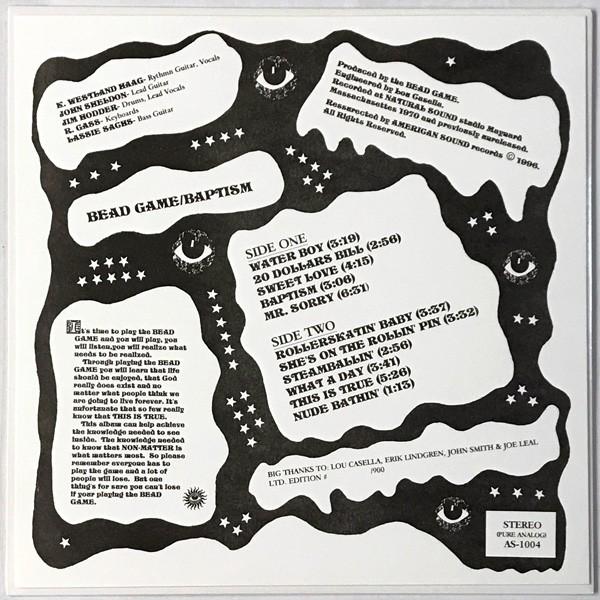 Bead Game - Baptism LP
