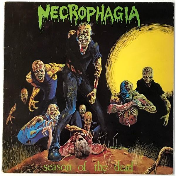 Necrophagia - Season Of The Dead LP 1987 death metal original vinyl record