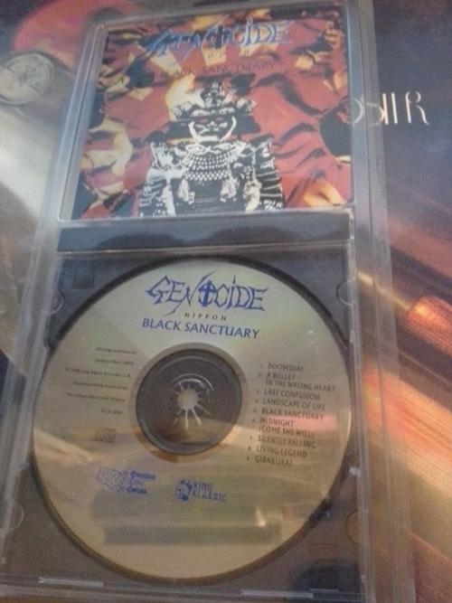 Genocide Black Sanctuary CD