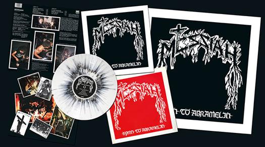 Messiah Hymn To Abramelin Lp 1986 Swiss Thrash Metal