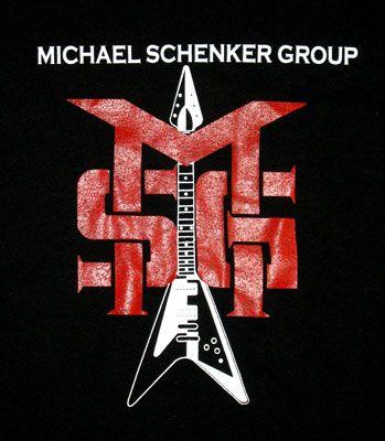 Msg Michael Schenker Group T Shirt Heavy Metal Hard Rock