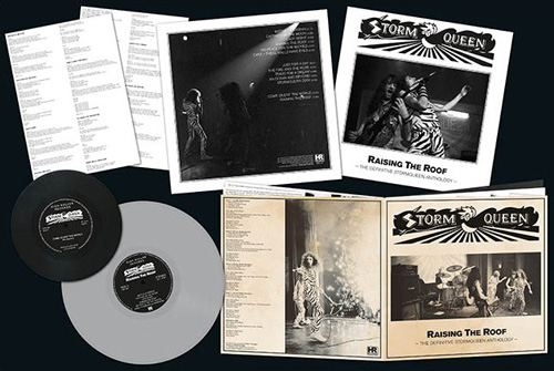 Stormqueen Raising The Roof Lp Nwobhm Metal Record