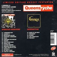 Queensryche - Axe Killer Warrior's Set 2CD Box