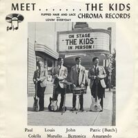 The Kids - Meet....The Kids 7inch