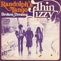 Thin Lizzy - Randolph's Tango / Broken Dreams 7inch