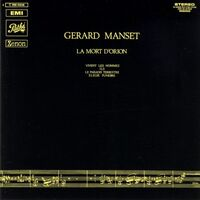 Manset, Gerard - La Mort D'Orion CD WPC6-8507
