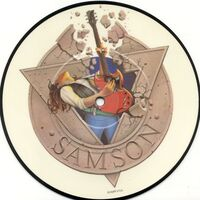Samson - Losing My Grip / Pyramid to the Stars 7inch