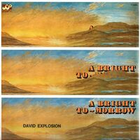 David Explosion - A Bright To-Morrow LP