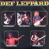 Def Leppard - Wasted / Hello America 7inch
