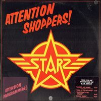 Starz - Attention Shoppers! LP