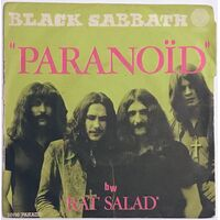 Black Sabbath - Paranoid / Rat Salad 7-Inch