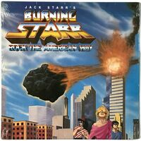 Jack Starr's Burning Starr - Rock The American Way LP