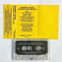 Morbid Angel - Blessed Are The Sick Cassette (Promo)