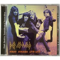 Def Leppard - First Strikes 1978-1979 CD Air 10