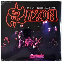Saxon - Live At Beat-Club 1981 LP Atos 8