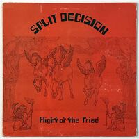 Split Decision - Flight Of The Triad LP SD