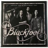 Blackfoot - Chicago 1980 & Hollywood 1983 2-LP PARA06LP