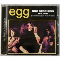 Egg - BBC Sessions And More (1968-1972) CD AIR 27