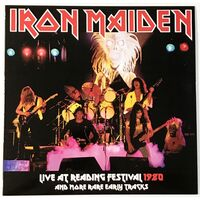 Iron Maiden - Live At Reading Festival 1980 LP VER 78