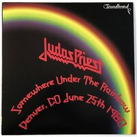 Judas Priest - Somewhere Under The Rainbow 1980 LP YDLP012