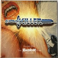 Killer - Volume One: The Mausoleum Years 1981-1990 4-CD Box HNEBOX114