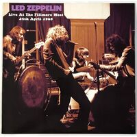Led Zeppelin - Live At The Fillmore West 24th April 1969 LP VER 76