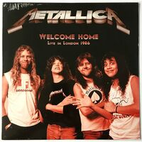 Metallica - Welcome Home, Live In London 1986 LP KTC413
