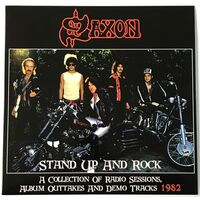 Saxon - Stand Up And Rock 1982 LP VER 80