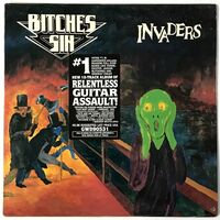Bitches Sin - Invaders LP GWD90531