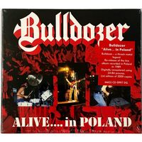 Bulldozer - Alive...In Poland CD Mass cd 0997 dg