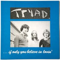 Tryad - If Only You Believe In Lovin' LP DV 012