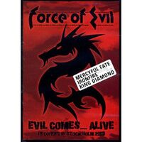Force of Evil - Evil Comes....Alive DVD