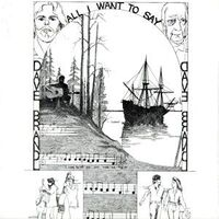 Brandl, Dave - All I Want to Say LP LP