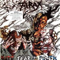 Hirax - Hate, Fear and Power LP MB 72162-1