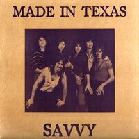 Savvy - Made in Texas LP.