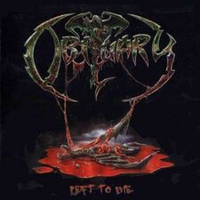 Obituary - Left to Die CD