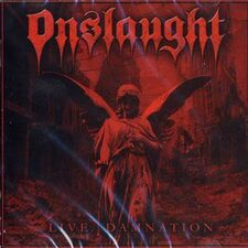 Onslaught - Live Damnation CD