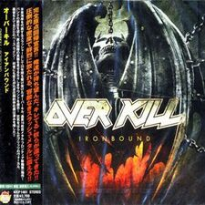 Over Kill - Ironbound CD