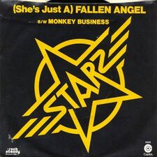 Starz - (She's Just A) Fallen Angel / Monkey Business