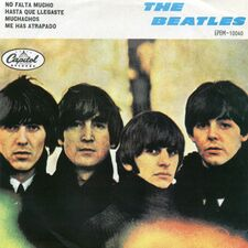 The Beatles - No Falta Mucho 7inch