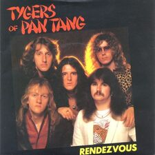 Tygers of Pan Tang - Rendezvous / Life of Crime 7inch