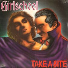 Girlschool - Take A Bite LP