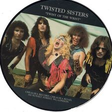 Twisted Sister - Twist Of The Wrist LP (Picture Disc).