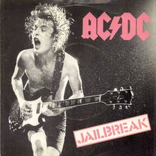 AC/DC - Jailbreak / Fling Thing single